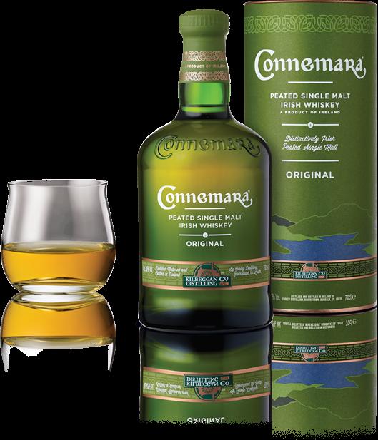the connemara peated single malt irish whiskey